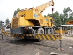 50T used kato crane rough terrain crane